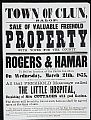 Property sale notices -